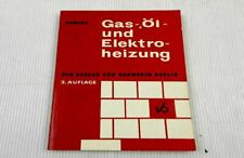 Gas Öl Elektro Heizung Heizungsarten Madaus 1963 Verlag Bauwesen Berlin