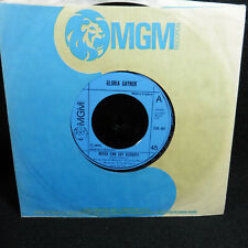 """GLORIA GAYNOR Never Can Say Goodbye  UK MGM  1974  7"""" 45 single Excellent"""