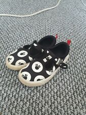 Girls Clarks Mickey  Minnie Mouse Trainers, Infant Size 9.5 f