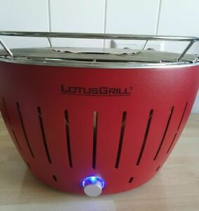 Lotusgrill G340 Rot incl. Tasche, Anleitung OVP