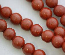 1Strands Volcano Stone Ball Loose Beads 4.6.8.10.12.14mm 15.5inch B7283
