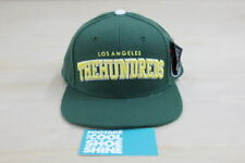 "THE HUNDREDS ""PLAYER"" SNAPBACK HAT STARTER GREEN BOX LOGO ADAM BOMB CAP RED"
