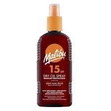 MALIBU 200ML SPF 15 DRY OIL SPRAY Medium Protection