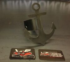 """Anchor Hitch Cover - 1/8"""" Steel - Tow Towing Reese Custom Sailing Fishing Boat"""