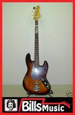 KSD KEN SMITH DESIGN KSD-604 4-String Jazz Bass Guitar - Tobacco Sunburst