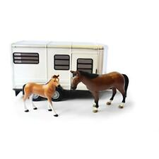 TOMY 42846 Britains grande fattoria per bambini giocattolo rimorchio per cavalli con cavallo e puledro NUOVO