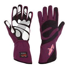 LRP Kart Racing Gloves- Freedom Gloves Black/Purple