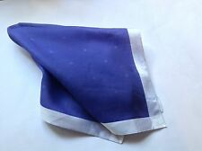 DAKS Men's  handkerchief, pocket square smart for wedding, work.100% Cotton