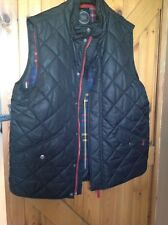 Mens Joules FIELDMOOR Bodywarmer Gilet Black Quilted Size XL *Hardly Worn*