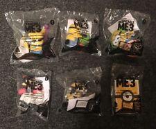 McDonald's 2017 DESPICABLE ME 3 Semi-Complete Set of 6 MINIONS Toys Brand New