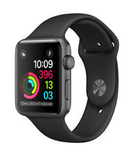 Apple Watch Series 1 38mm Space Grey Aluminum Case Black Sport Band - (MP022X/A)