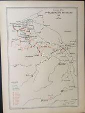 Houchard Menin en 1793 Belgique Ypres Poperinghe Herzeele Dunkerque Bergues
