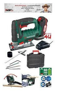 Parkside 20V Cordless Jigsaw Including ( Battery, Charger & Carrying Case )