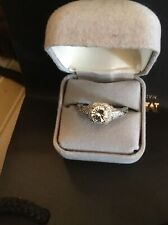 style engagement ring vintage 20's - 30's