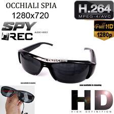 Occhiali Telecamera spia nascosta microcamera occultata HD video