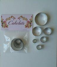 CIRCLE Set Décoration Gâteau-métal