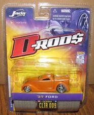 D-Rods 1937 Ford Coupe Orange Street Rod Car 1:64 Jada Toy Die Cast 2005 Wave 1