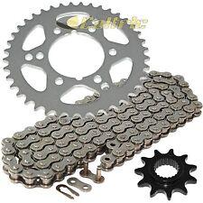 Front /& Rear Steel Sprocket Kit for ATV//UTV POLARIS 330 Trail Blazer 2008-2010