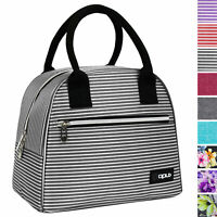 Insulated Lunch Bag Purse Thermal Bento Cooler Food Tote for Women Girls Office