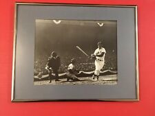 1946 WORLD SERIES TED WILLIAMS HOME RUN TYPE ll PHOTO FROM ORIGINAL NEGATIVE