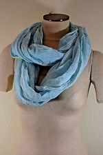 STEVE MADDEN Women's Scarf INFINITY LOOP SKY PINSTRIPE Infinity scarf $28