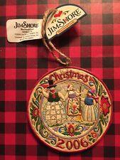 Jim Shore Heartwood Creek Ornament New
