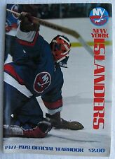 "1977-1978 New York Islanders NHL Hockey Yearbook (8x11"" - 50 pages) Mike Bossy +"