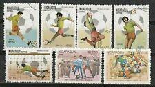 Nicaragua   7  timbres