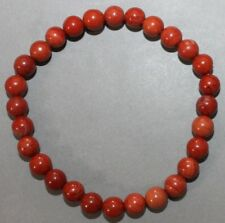 "Bracelet Jaspe rouge 6 mm ""Large"""