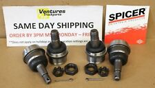BALL JOINT KIT UPPER AND LOWER BOTH SIDES DODGE RAM 1500 AND 2500 DANA 44 FRONT