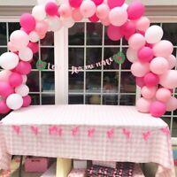 Wedding Party Decor Large Balloon Arch Set Column Stand Base Frame Kit UK rr