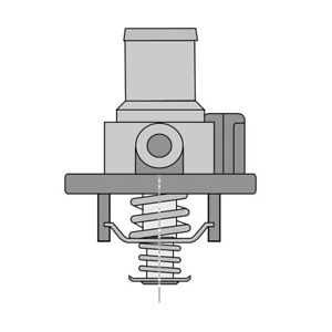 THERMOSTAT FOR FIAT DUCATO 120 MULTIJET 2,3 D 250,290 (2006-2017)