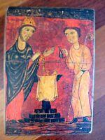 RUSSIAN GREEK ORTHODOX CHRISTIAN ICON SAINTS