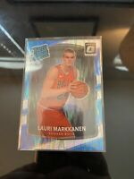 2017-18 Donruss Optic Shock LAURI MARKKANEN RC Rated Rookie #159 Bulls