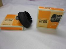 2X Collapsible Rubber Lens Hood 46mm Double Thread Mount Superior Quality Japan