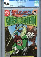 Green Lantern #123 CGC 9.6 White Pages DC Comics 1979