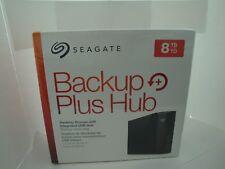New 2 Year Seagate Backup Plus Hub 8TB External STEL8000100  HDD USB 3.0