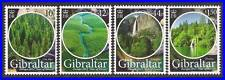 GIBRALTAR 2011 EUROPA - CEPT SC#1274-77 MNH CV$8.25 FORESTS, TREES, WATERFALL