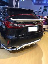 Rear Trunk Spoiler Wing for Lexus RX200 RX200t RX300h RX450h 2015 2016 2017