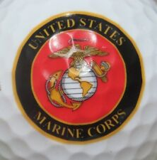 MARINE CORPS UNITED STATES US MILITARY LOGO GOLF BALL