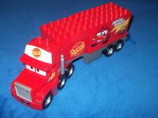 Lego Duplo Cars Mack auf großer Fahrt aus 5816 LKW + ANHÄNGER blaue Klappe