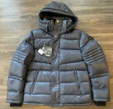 NWT Pajar Dorchester Goose Down Puffer Jacket Grey Mens Size Medium $425