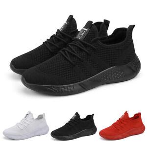 Herren Laufschuhe Turnschuhe Atmungsaktiv Walking Sportschuhe Running Sneaker