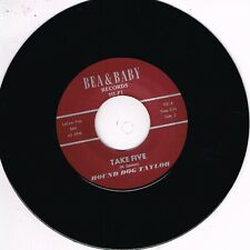 HOUND DOG TAYLOR - TAKE FIVE / MY BABY IS COMING HOME (Blues Bopper) Repro