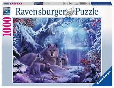 1000 Teile Ravensburger Puzzle Winterwölfe 19704