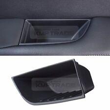 Black Interior Door Pocket Holder Storage Box Trim 4P for KIA 2015-2019 Sorento