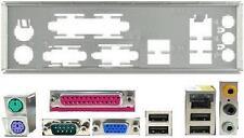 ATX diafragma i/o Shield asus a7n8x-mx se #307 OVP nuevo Io a7v266-mx a7v400-mx se