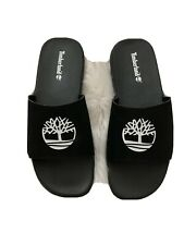 Men's Timberland Fells Slide Sandals Black/White Style: AIXBN Size: US 12