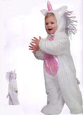 EINHORN KOSTÜM Overall Kinder Rosa Pink Weiss 92-98-104 Plüsch -Pferdchen Pony