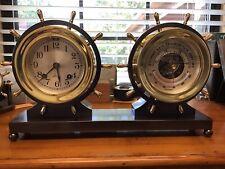 "Chelsea 1949 ""Claremont� Clock & Barometer Set"